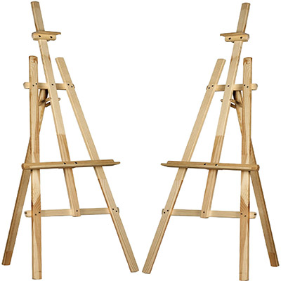 Wooden Display Easels