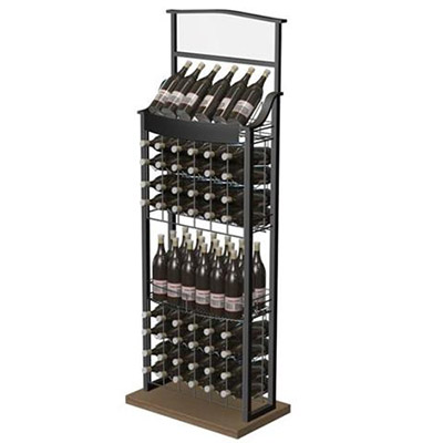 Metal Display for Wine